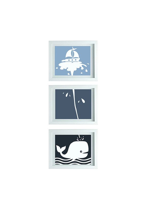 Whale bathroom