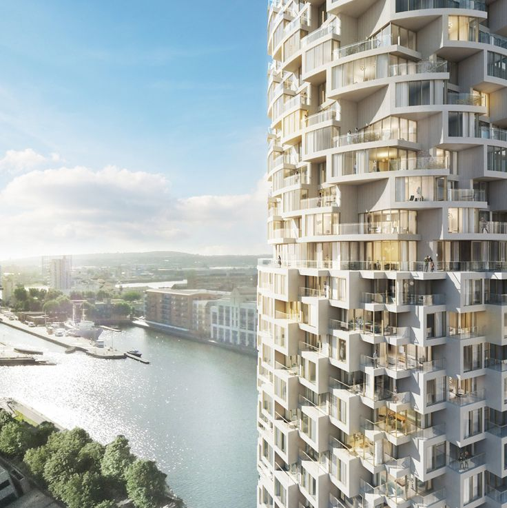 Herzog & de Meuron Skyscraper Unveiled for New Canary Wharf Development