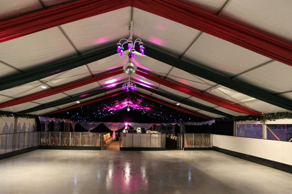 Windsor On Ice (2010), the Christmas ice rink at Alexandra Gardens - provided by Cities On Ice.
