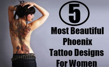 Phoenix Tattoo Designs For Women