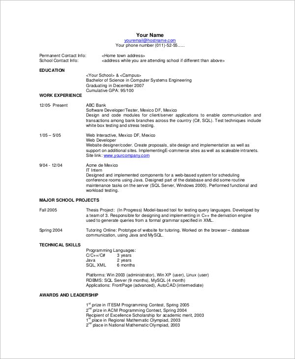 ... Die Besten 25+ Basic Resume Examples Ideen Auf Pinterest   Example Of A Basic  Resume ...  Example Basic Resume