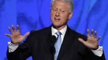 Bill Clinton Takes On Paul Ryan's Lie About Medicare: 'It Takes Some Brass'