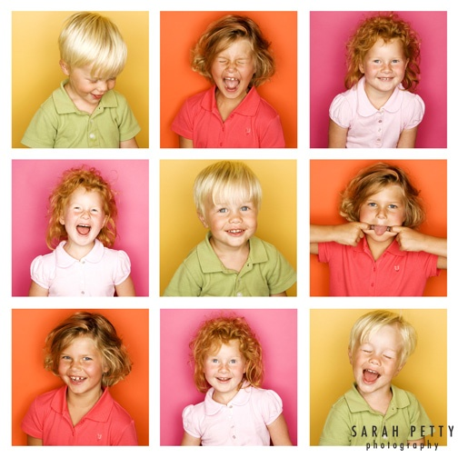 sarah petty, family photography, bright colors and expression