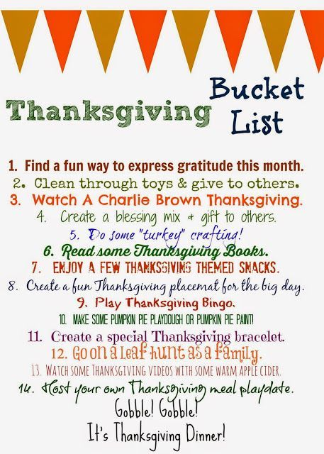 Ideas about thanksgiving food list on pinterest