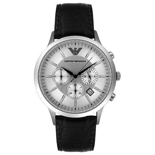 Emporio Armani Men's AR2432 Chronograph Stainless Steel and Black Leather Watch Emporio Armani,http://www.amazon.com/dp/B002LTSKFK/ref=cm_sw_r_pi_dp_Sim6sb0E9VZPHA2D