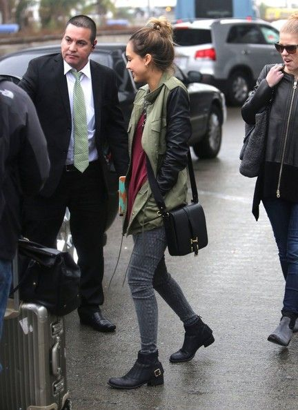 effortless style by jessica alba