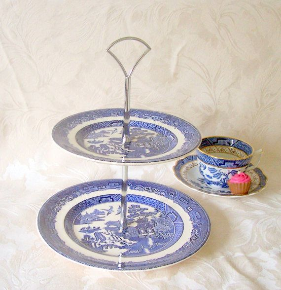 Crown Devon Cake Stands