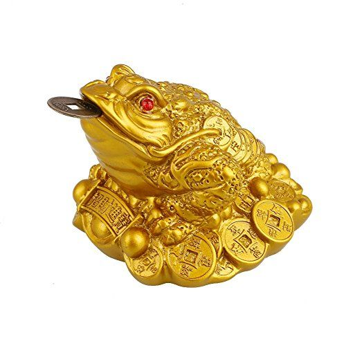 BigFamily Yuanbao Toad Brass to Attract Wealth and Good Luck