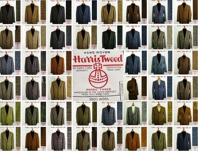 1000  images about Harris Tweed Jackets for Men on Pinterest