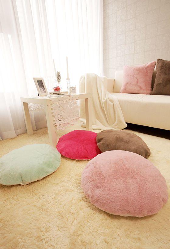 [바보사랑] 마카롱같이 달콤할 것 같은 쿠션 어때요? /쿠션/인테리어소품/거실/소파/침구/모던/홈스타일링/Cushion/interior/Living room/home styling/Sofa/Bedding/Modern