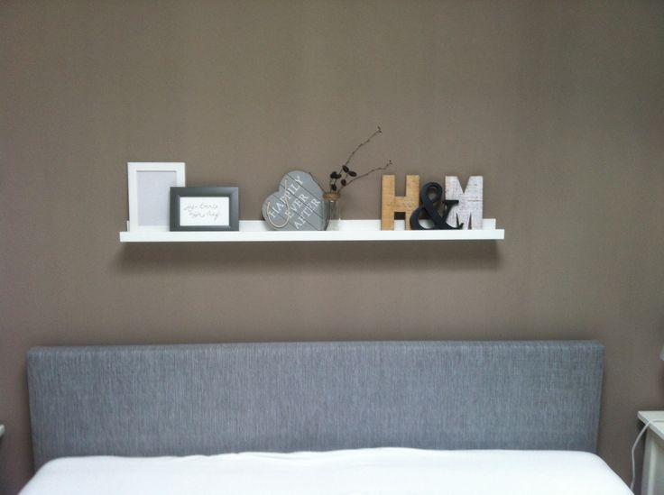 Plankje boven ons bed ons huisje pinterest beds for Plank boven bed