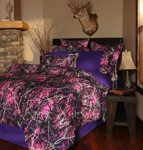 AP Lavender Camo | ... about NEW MUDDY GIRL PURPLE PINK CAMOUFLAGE CAMO COMFORTER BEDDING SET