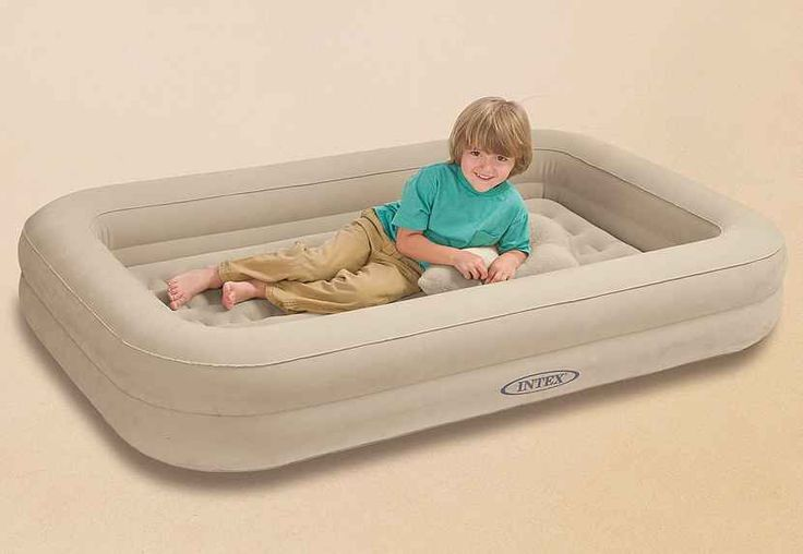 Luftbett, inkl. Luftpumpe, »Kidz Travel Bed Set«, Intex