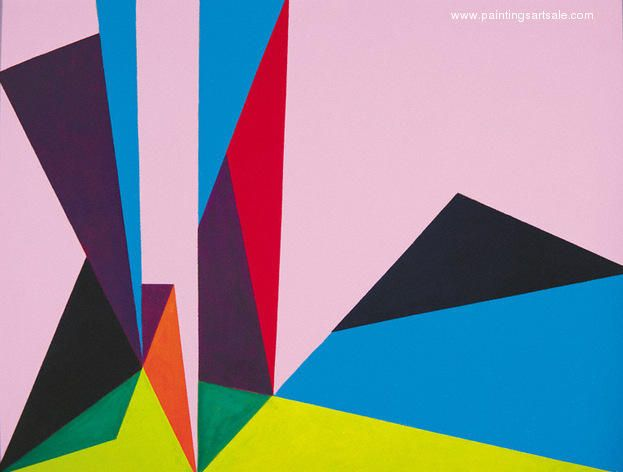 Magical Space Forms 1948 by Lorser Feitelson