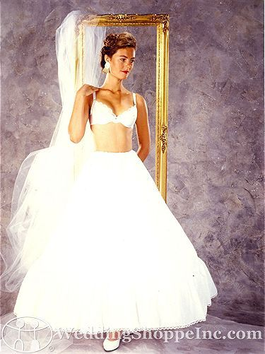 Darling Hoops and Slips Wedding Undergarments 909 not discontinued--$33.96 with discount