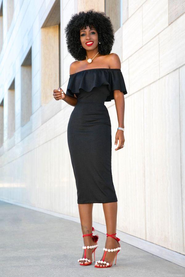 frill off shoulder dress my style pinterest shoulder