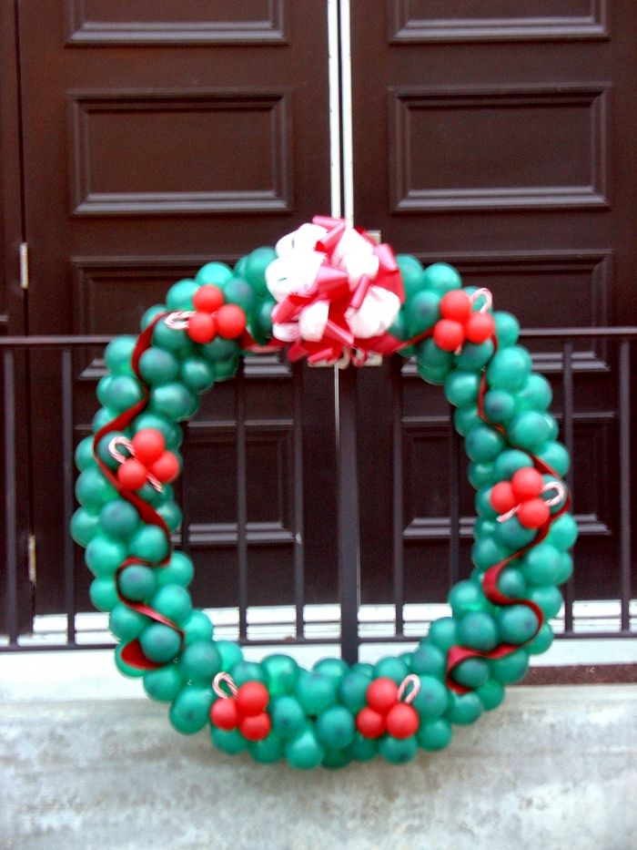 Best images about christmas balloon decorations on