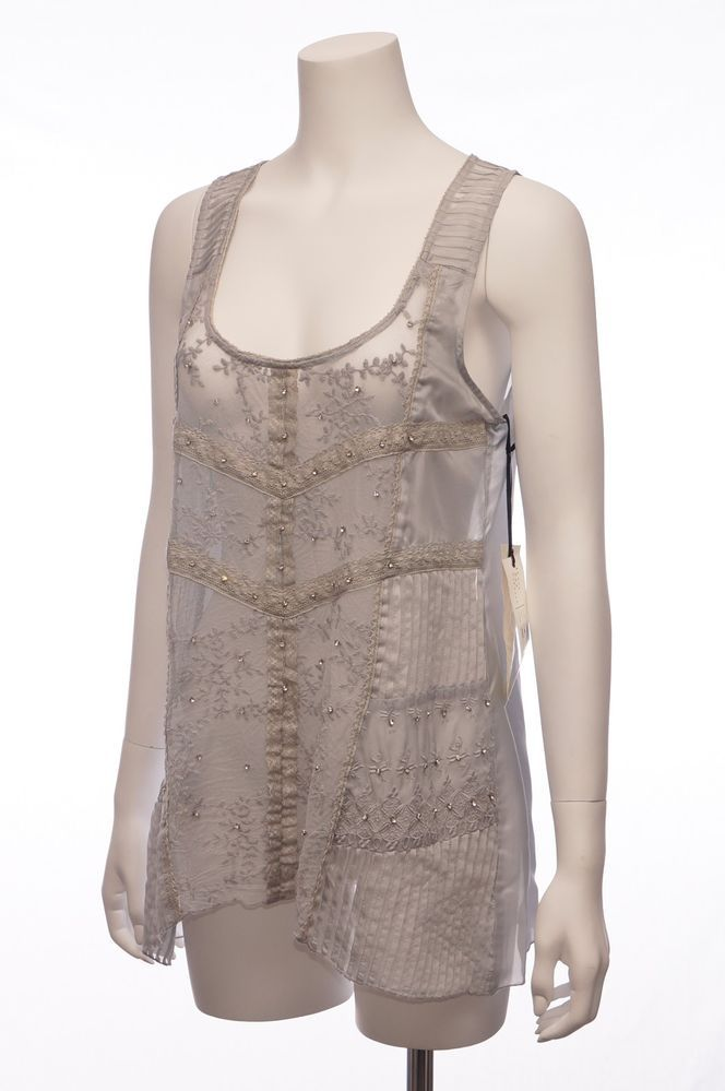 4 love liberty by johnny was mist bryony silk tank l for Johnny was silk shirt