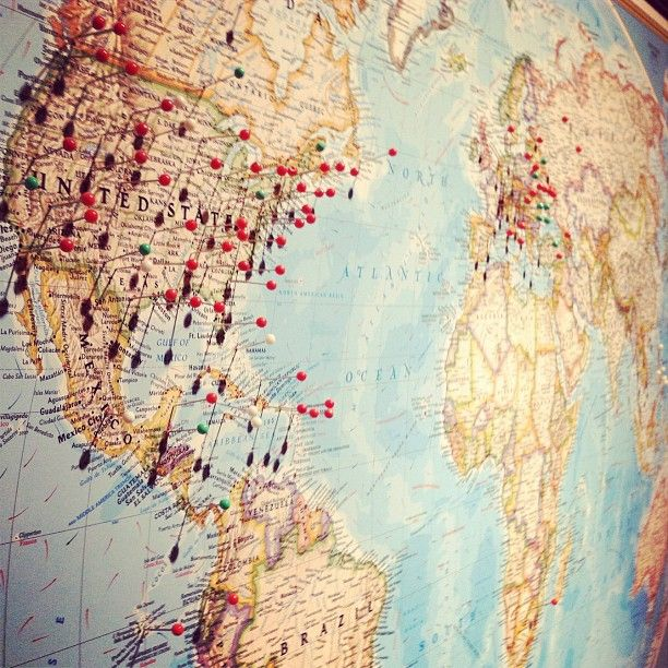Maps With Pins – Travel Map With Pins