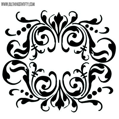 Free stencil patterns! - Great tutorial too. Follow the link