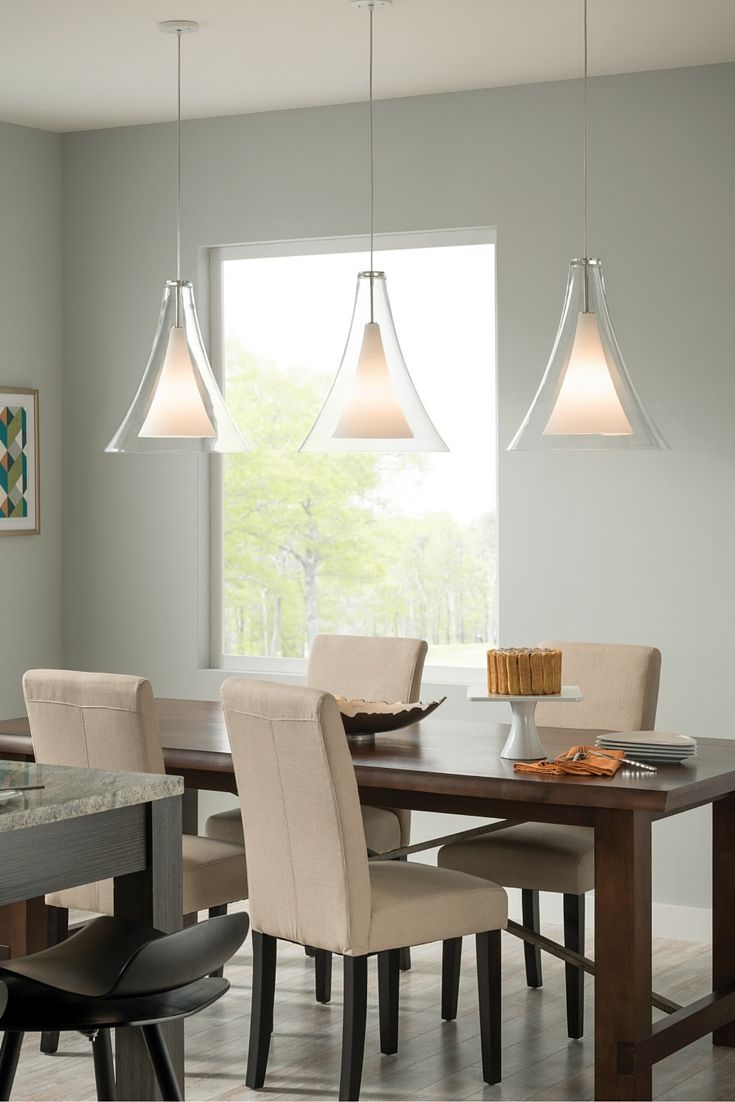 The Unexpectedly Large Contemporary Glass Shade Of The Melrose II Grande  Pendant Light From Tech Lighting