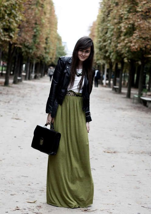 Charming Moschino green skirt