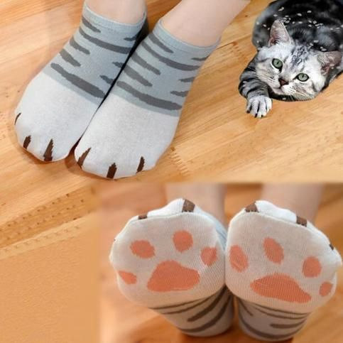 Cute Neko Cat Socks sold by Moooh!!. Shop more products from Moooh!! on Storenvy, the home of independent small businesses all over the world.