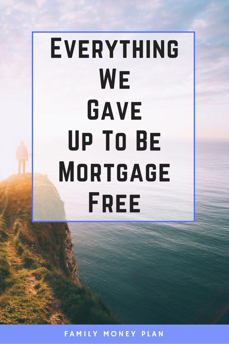 28 things you can give up to be mortgage free  Money saving Ideas