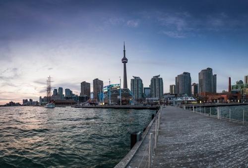 Toronto Harbourfront Panorama
