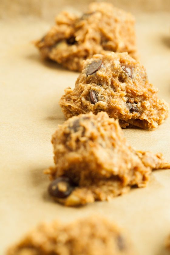Coconut Monkey Bites | Yummy bites of coconut, banana, chocolate, cinnamon, almond butter, and apple sauce.  On-the-go energy in every bite!  #paleo #vegan #vegetarian