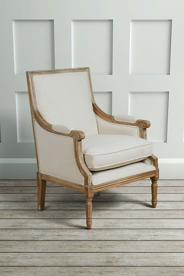 De Troy Limed French Armchair