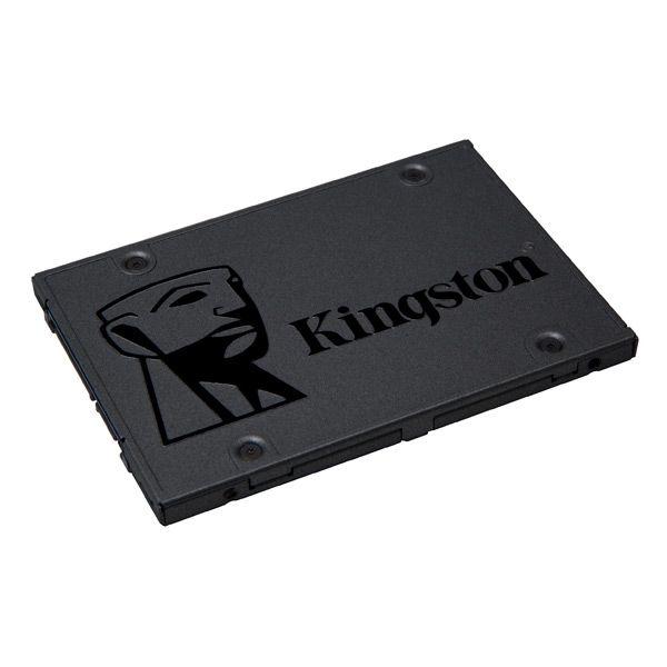 """Hard Disk Kingston SSDNow SA400S37 2.5"""" SSD 120 GB Sata III Kingston 84,39 € Se sei un appassionato d'informatica ed elettronica, ti piace stare al passo con la più recente tecnologia senza lasciarti sfuggire nessun dettaglio, acquista Hard Disk Kingston SSDNow SA400S37 2.5"""" SSD 120 GB Sata IIIal miglior prezzo.Kingston Technology A400 SSD 120GB, 120 GB, Serial ATA III, 500 MB/s, 320 MB/s, PC/PC portatile, 6 Gbit/sCapacità SSD: 120 GBInterfaccia Solid State Drive (SSD): Serial ATA…"""