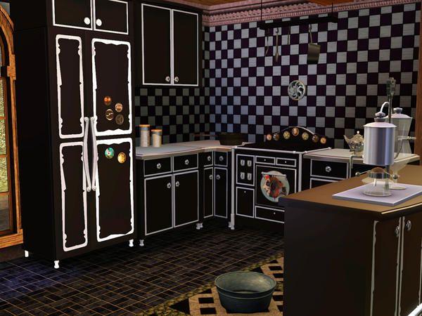Kitchen Ideas Sims 3 61 best sims home - kitchen images on pinterest | sims 3, kitchen