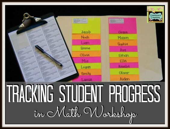 Check out this method for tracking student progress during math workshop (or anytime) in Week 4 in the 7 Habits of Highly Effective Math Workshops series!