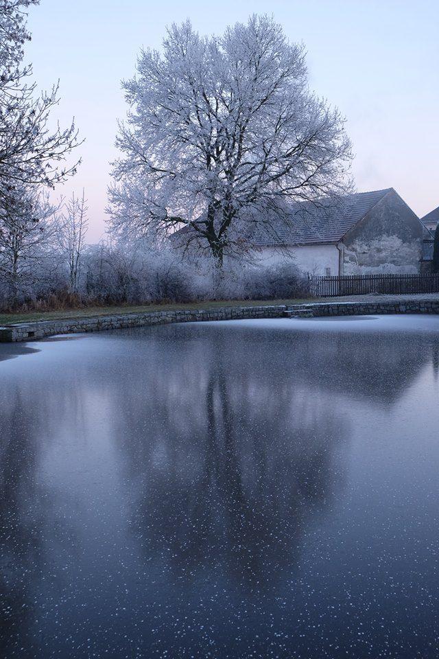 Winter Mood ..... On a frozen pond in Chrastany by Tomáš Marhoun ©