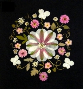 Green Mountain Pressed Flowers - Ellie Roden works her magic on real flowers, then uses them to compose lovely art work. See her in her Wilmington studio 10/5 & 10/6.