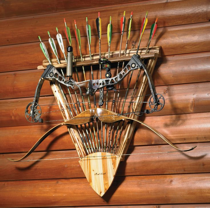 Bow And Arrow Rack Provides A Look That Hits The Target