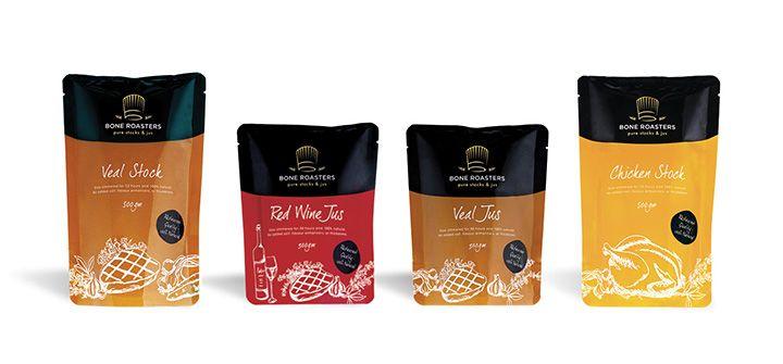 Bone Roasters Retail Packaging | Tinker Creative