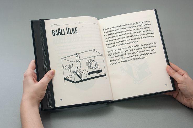 Establish a Country Manual Book / Ülke Kurma Rehberi on Behance