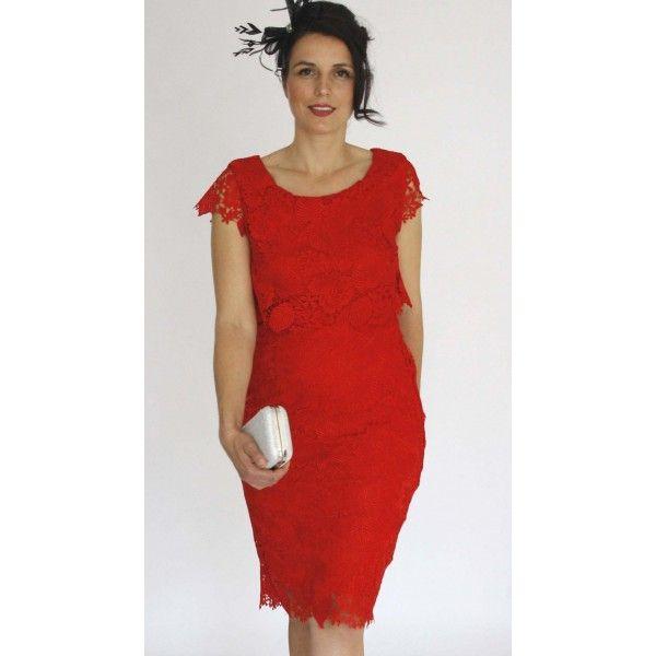 Caylene Venice Lace Evening Dress