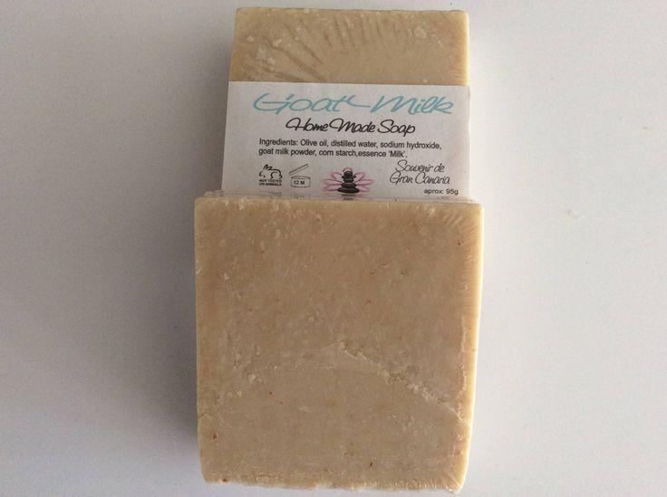 Sapone al Latte di Capra - Jabon de Leche de Cabra - Goat Milk Soap - Seife Ziegenmilch di ZenzeroSoap su Etsy