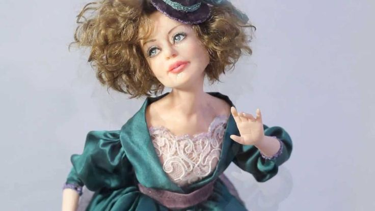 мастер класс по изготовление куклы из запекаемого пластика