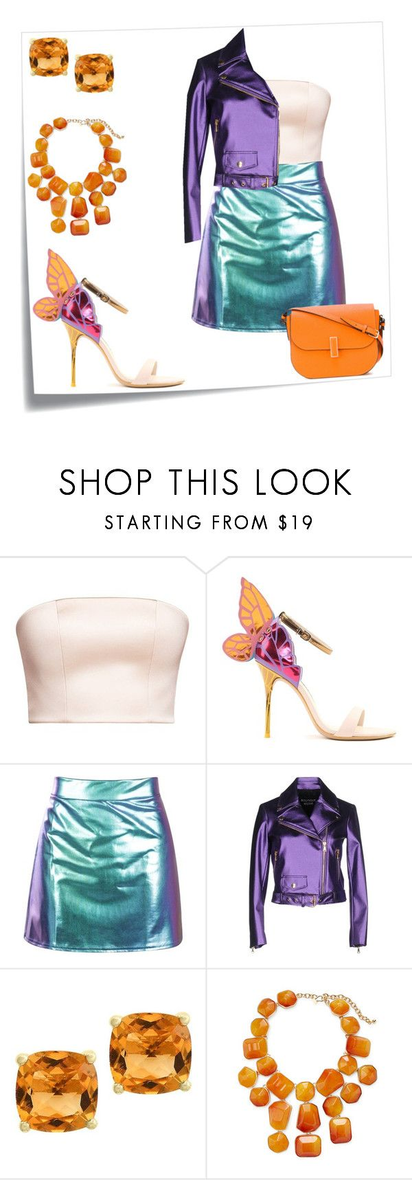 """""""Unbenannt #285"""" by arts22 on Polyvore featuring Mode, Post-It, Sophia Webster, Boutique Moschino, Effy Jewelry, Kenneth Jay Lane und Valextra"""
