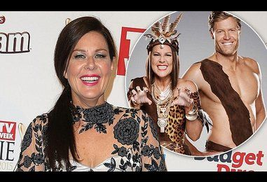 Julia Morris defends 'sexist' display with Dr Chris Brown on screen