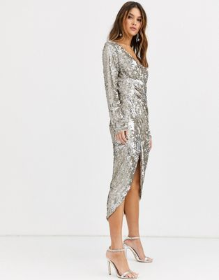 Sparkly Winter Dress