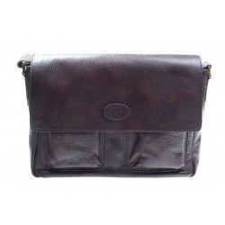 The Bridge Briefcase 39cm Brown