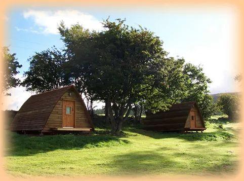 Camping Huts - Applecross Campsite - Applecross Peninsula