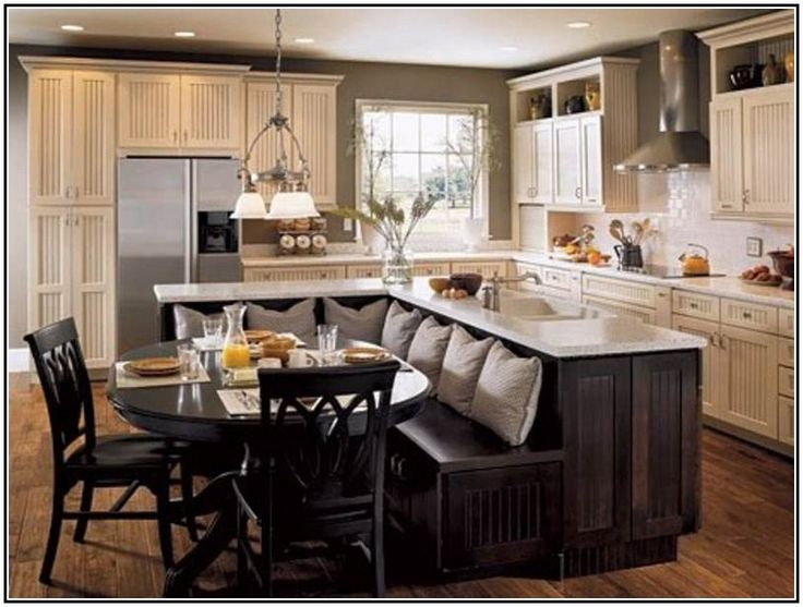 superb Kitchen Table And Island Combinations #1: 17 Best ideas about Island Table on Pinterest | Kitchen island table, Kitchen  islands and Kitchen armoire