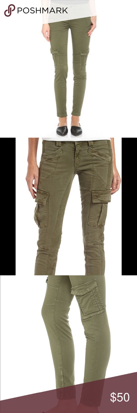 Vince Cargo Jeans Olive green, Vince cargo skinny jeans. Super trendy and cute! Vince Jeans Skinny
