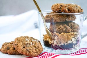 The Early Bird Breakfast Cookie (Gluten Free, Refined Sugar Free, Paleo)